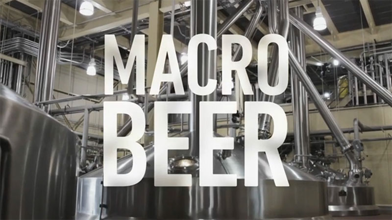 Proudly a Macro Beer